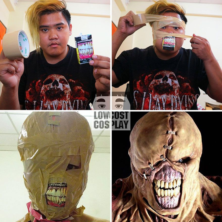 Cheap Cosplay Guy Strikes Again With Low-Cost Cost