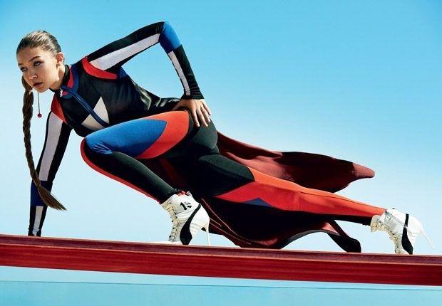 Джиджи Хадид (Gigi Hadid) для Vogue US