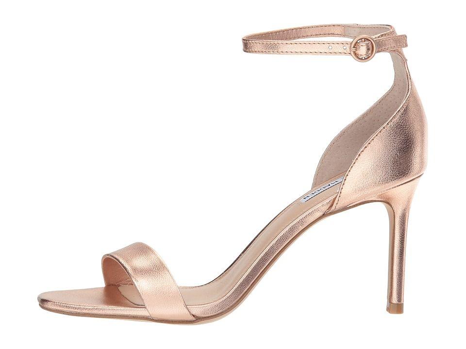 56747fb5ac7 Steve Madden Fame Heeled Sandal Women s Shoes Rose Gold