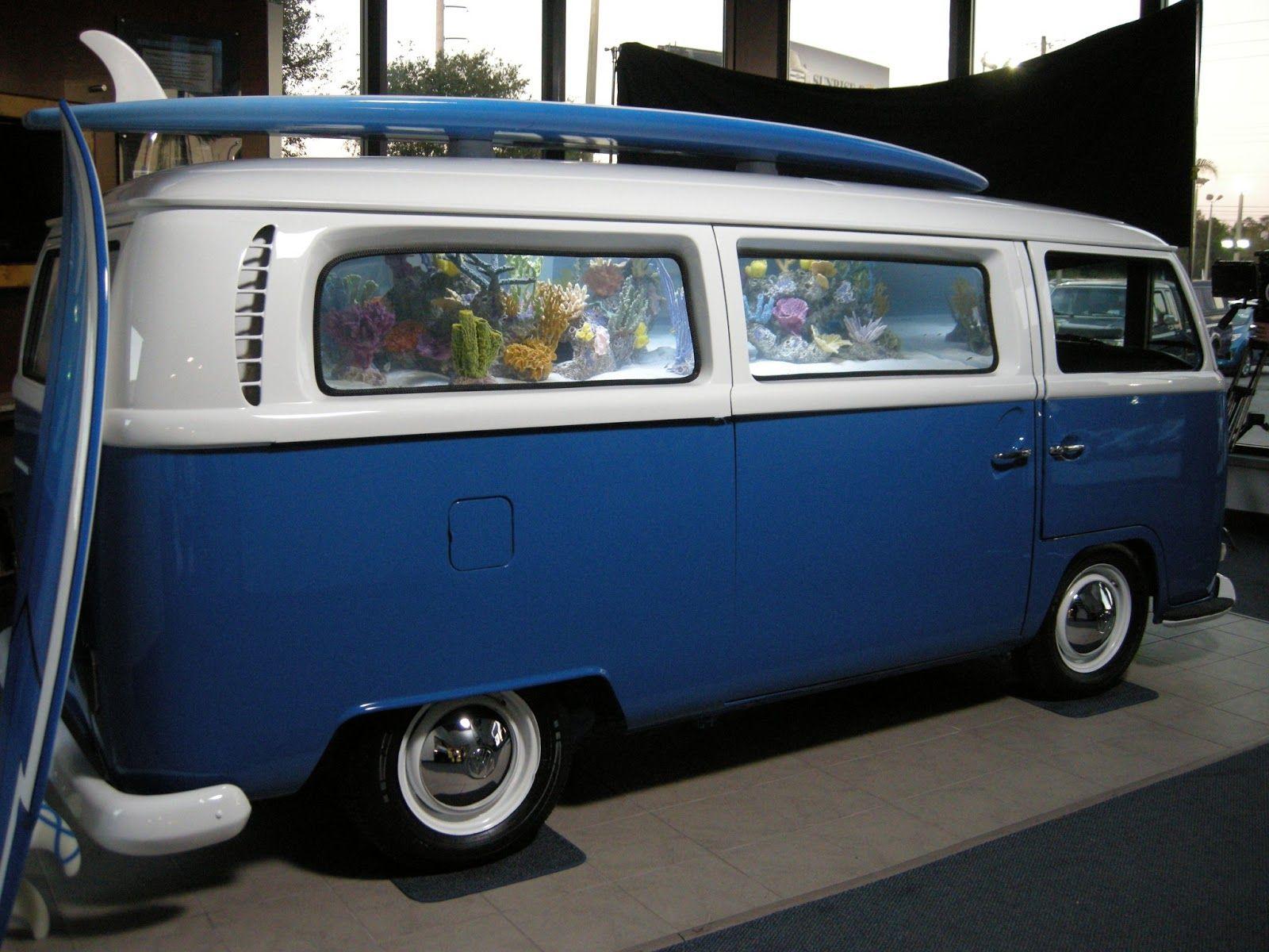 VW Bus Tank extreme fish aquarium Pinterest