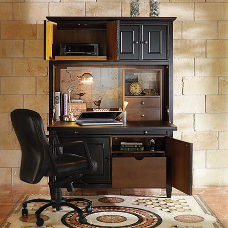 Alderson Computer Cabinet In White Arhaus For The