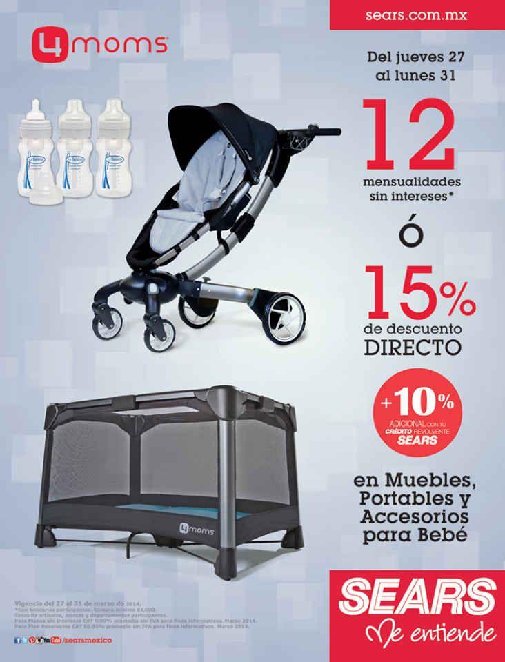Sears: 15% de descuento o 12 MSI en Articulos para Bebés Sears ...