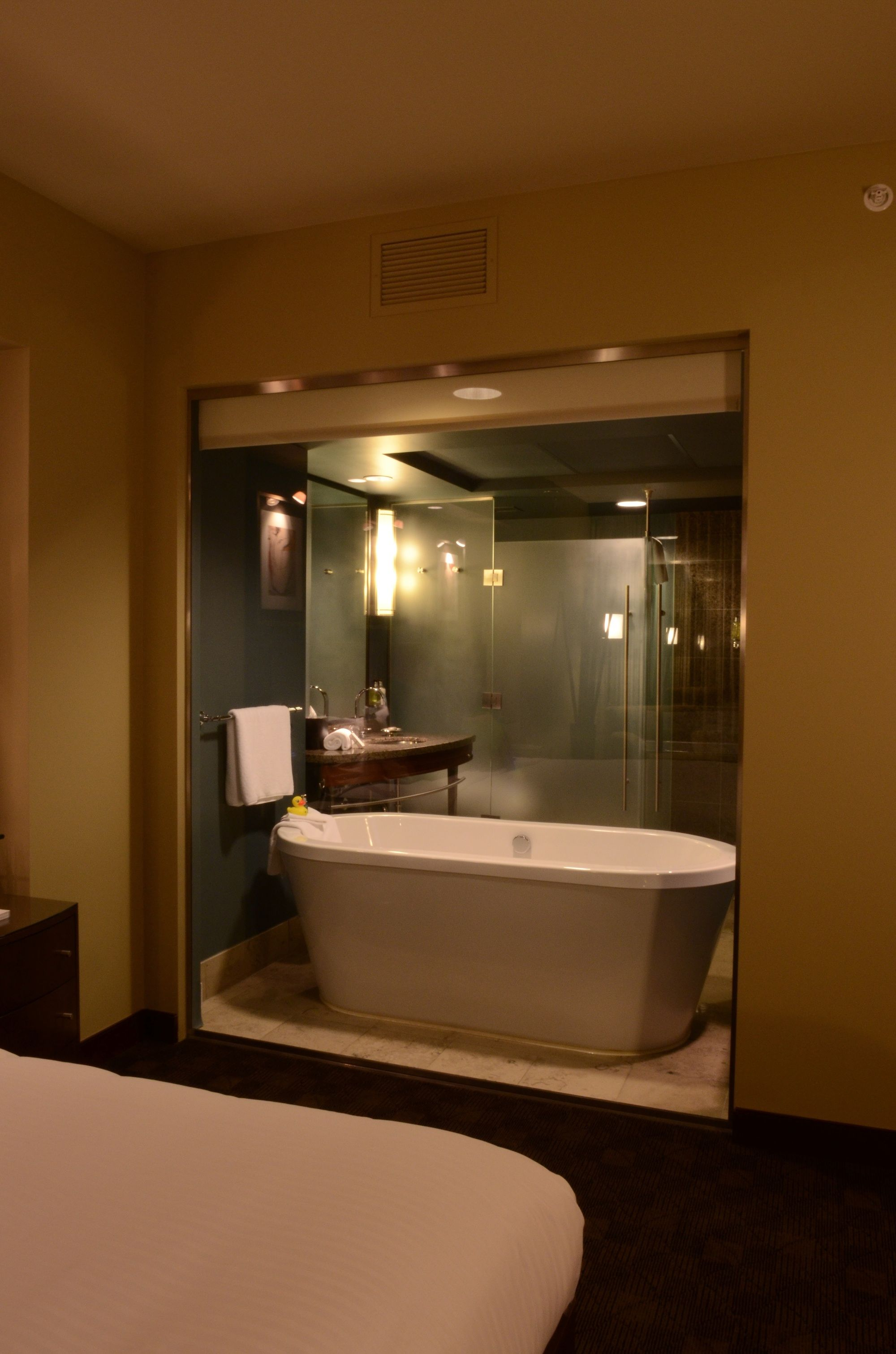 Free standing bath tub at Hotel 1000 #tub #hotel #travel | Inside ...