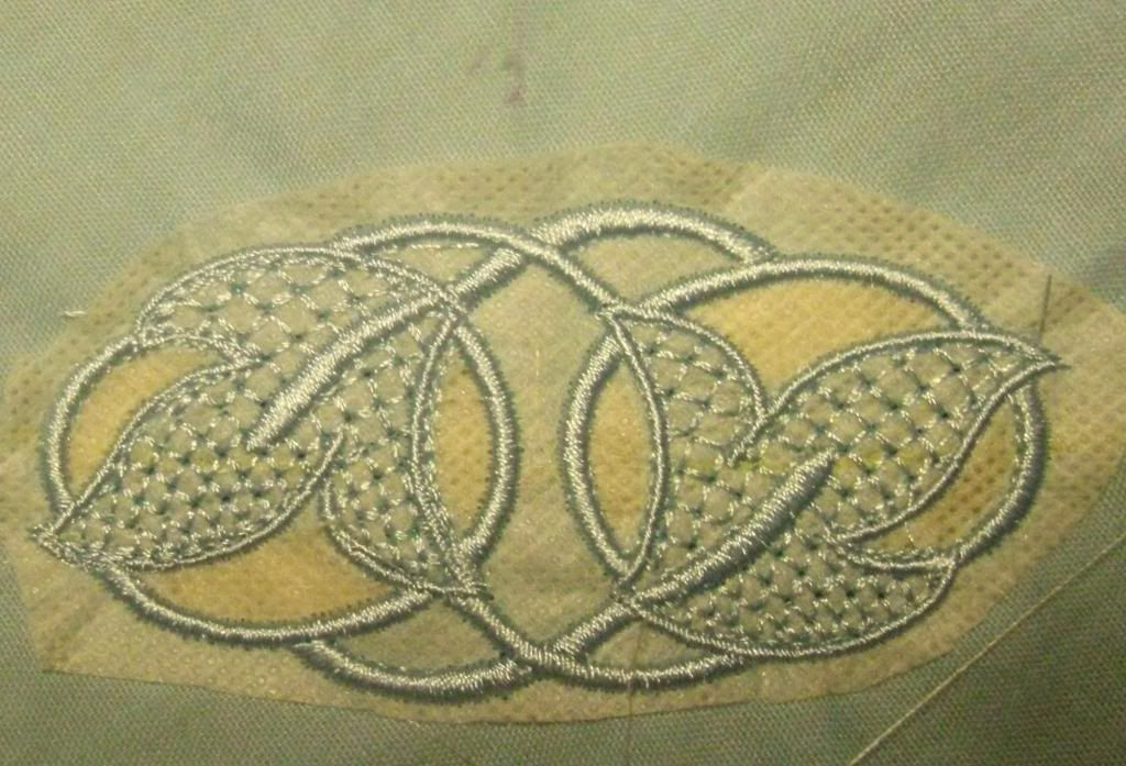 cutwork embroidery | ... something else will always call to me. This particular set is cutwork