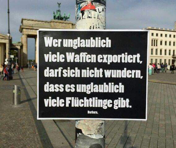 Wer unglaublich viele waffen exportiert spr che - Hamburg zitate ...