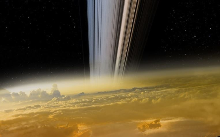 Cassini Beams Back The Closest Ever Images Of Saturn With Images
