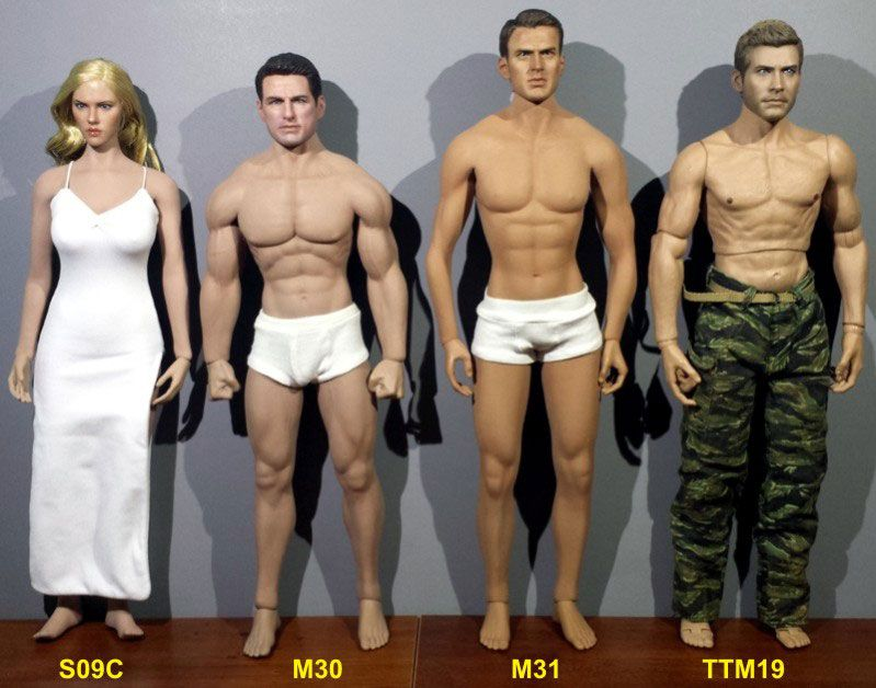 3 Colors 1:6 Scale Male Soldier Underwear Briefs Clothes Fit 12/'/' Body Toy NEw