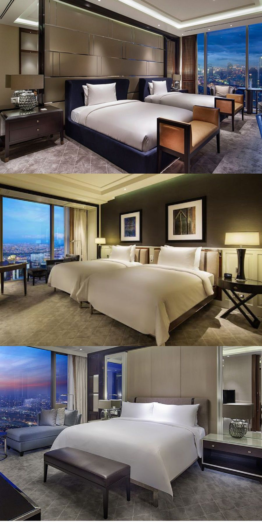 Luxury Hotel Bedrooms: Luxury Table Lamp, Featured At The Hilton Bomonti Hotel