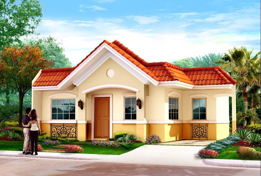 Philippine house plans and designs google search house for Bungalow outside design