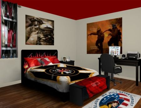 Custom Firefighter Blankets From VisionBedding. Choose From The Largest  Range Of Firefighter Blankets U2013 You Can Even Customize The Designs Yourself!