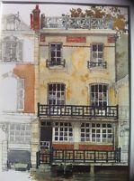 PARIS Watercolor Art Print PIERRE DEUX 'S CHEZ PAUL FORET Country French FRANCE