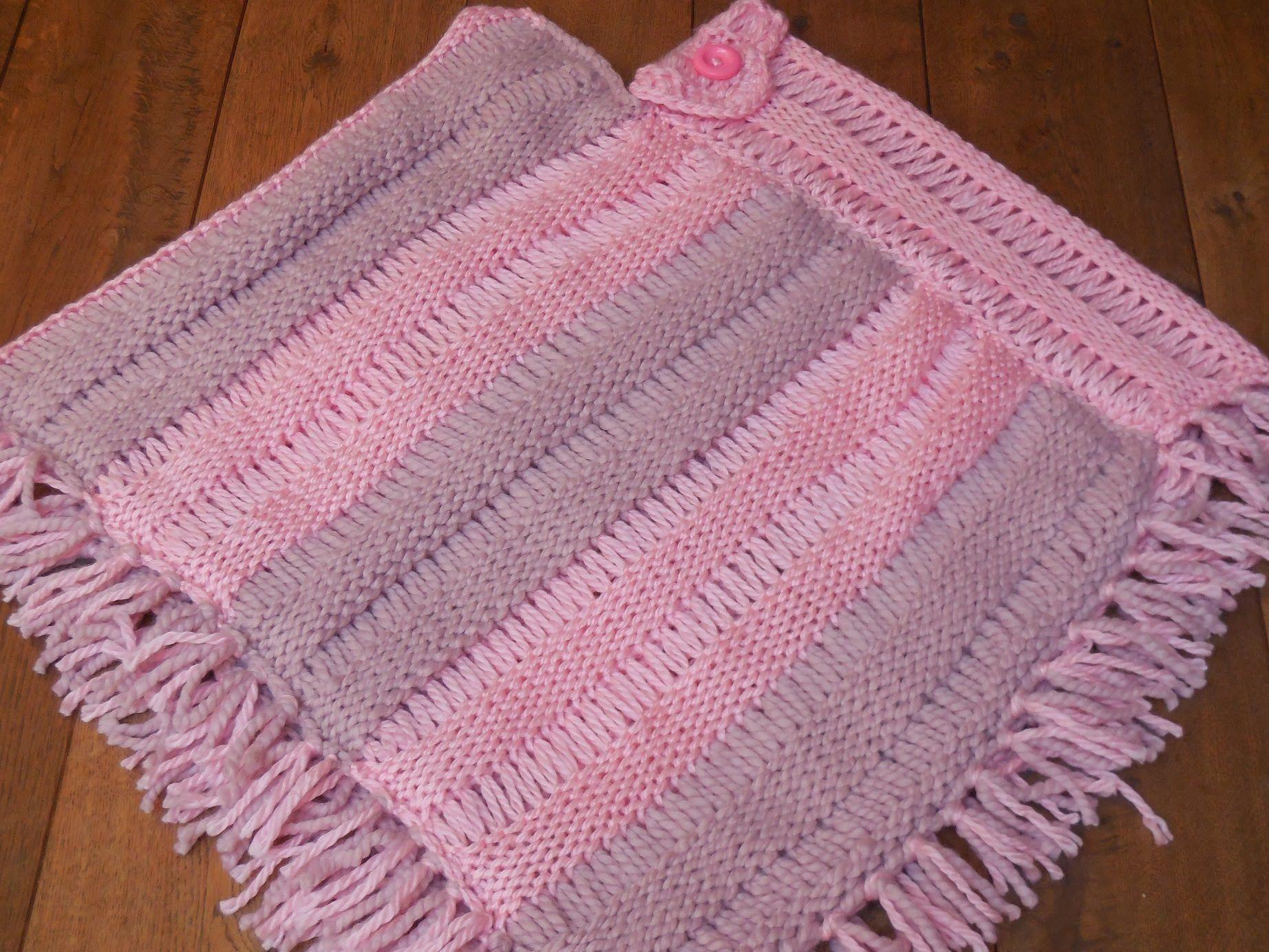 Deel 2: uitleg hoe je de poncho aan elkaar kunt naaien en hoe je ...