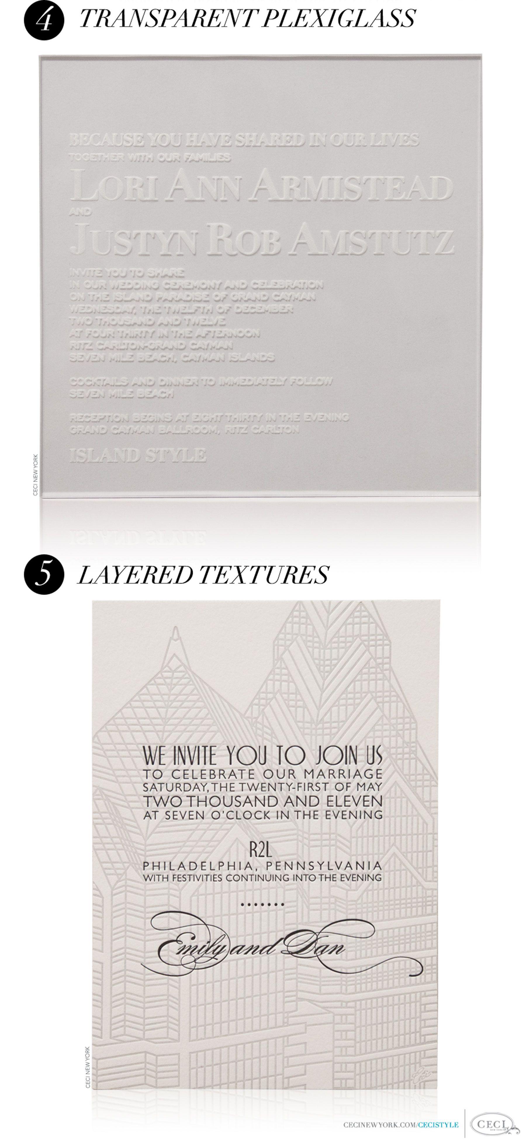 Modern Edge - Five ways to bring modern elegance to your wedding ...