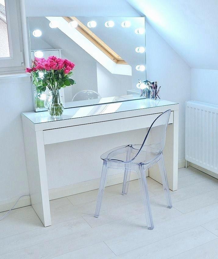 21 Elegant Small Vanity Table No Mirror, Makeup Vanity No Mirror