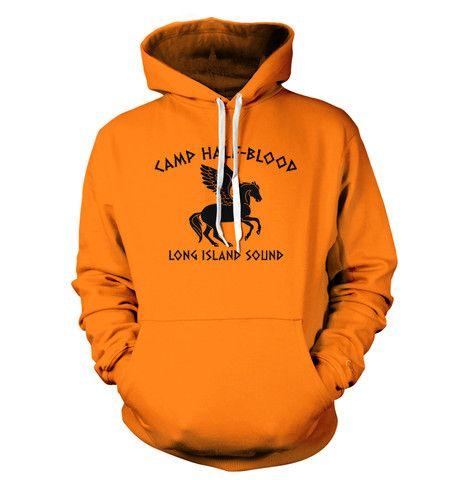 Camp Half Blood Long Island Sound T Shirt Moletons Herois Do