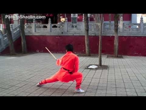 Yin Shou Gun (Shaolin Stick Fighting) - YouTube | Exercise