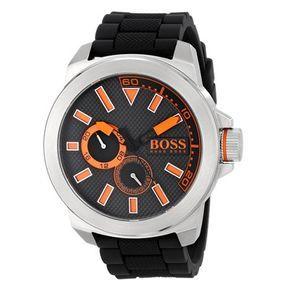 689d274ee91 Relógio Hugo Boss Masculino Borracha Preta - 1513011