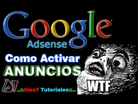 Como Activar Anuncios de Adsense en mi Pagina Web | Google Adsense