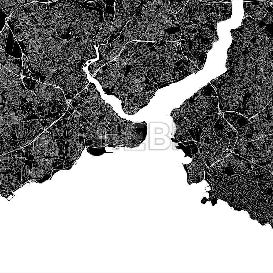 Istanbul Turkey Download Pdf Map In 2020
