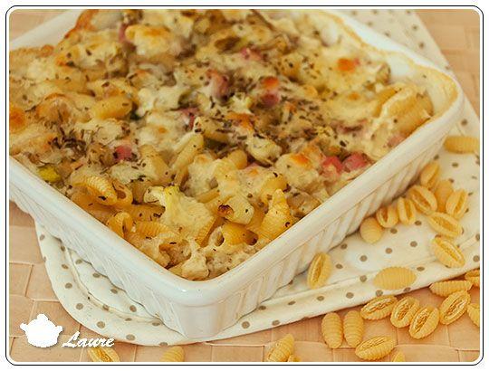 Gratin de p tes aux courgettes et la mozzarella pasta polenta and risotto - Pate a la mozzarella ...