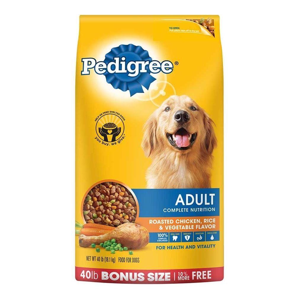 Pedigree Complete Nutrition Adult Dry Dog Food Bonus Bags Find