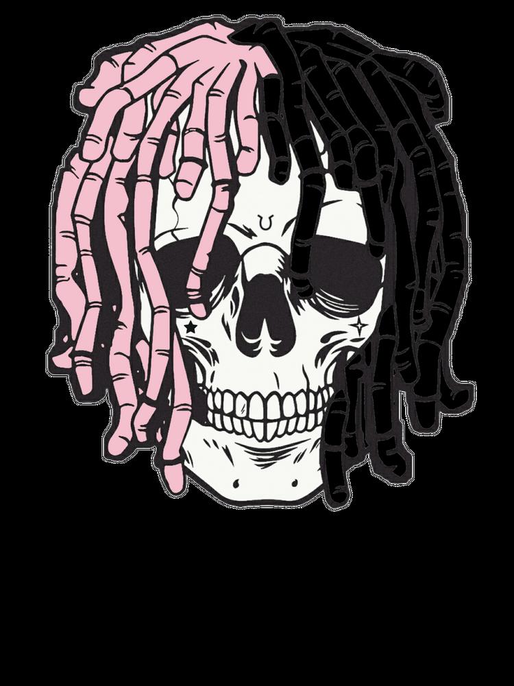 Lil Peep Skeleton Mini Art Print By Califerclothing Without Stand 3 X 4 Art Rapper Art Skeleton Art