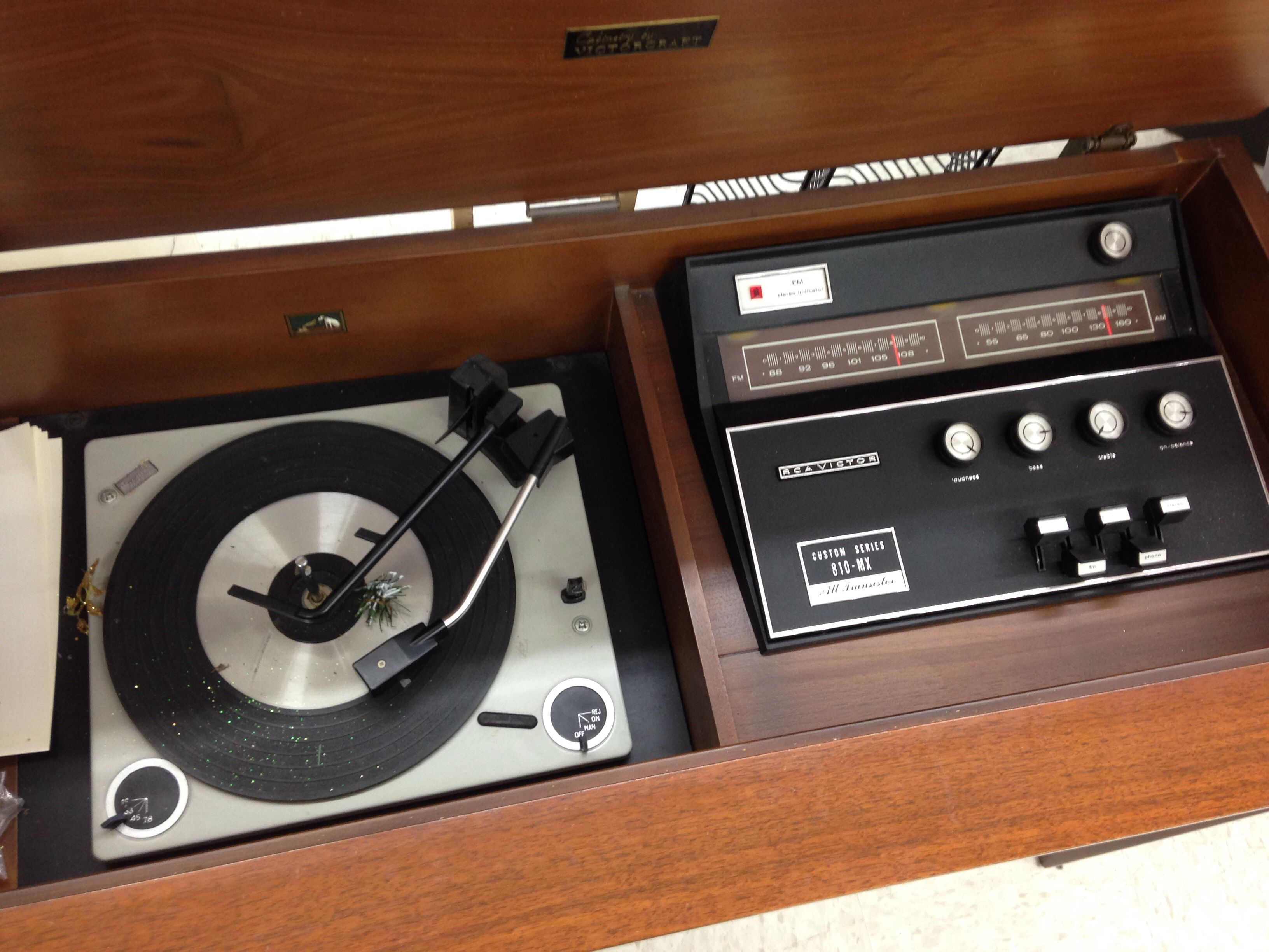 Vintage Console Stereos 12