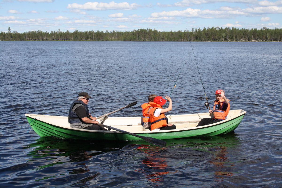 Kalastusleiri 2013 - Rovaniemen4 H-yhdistys