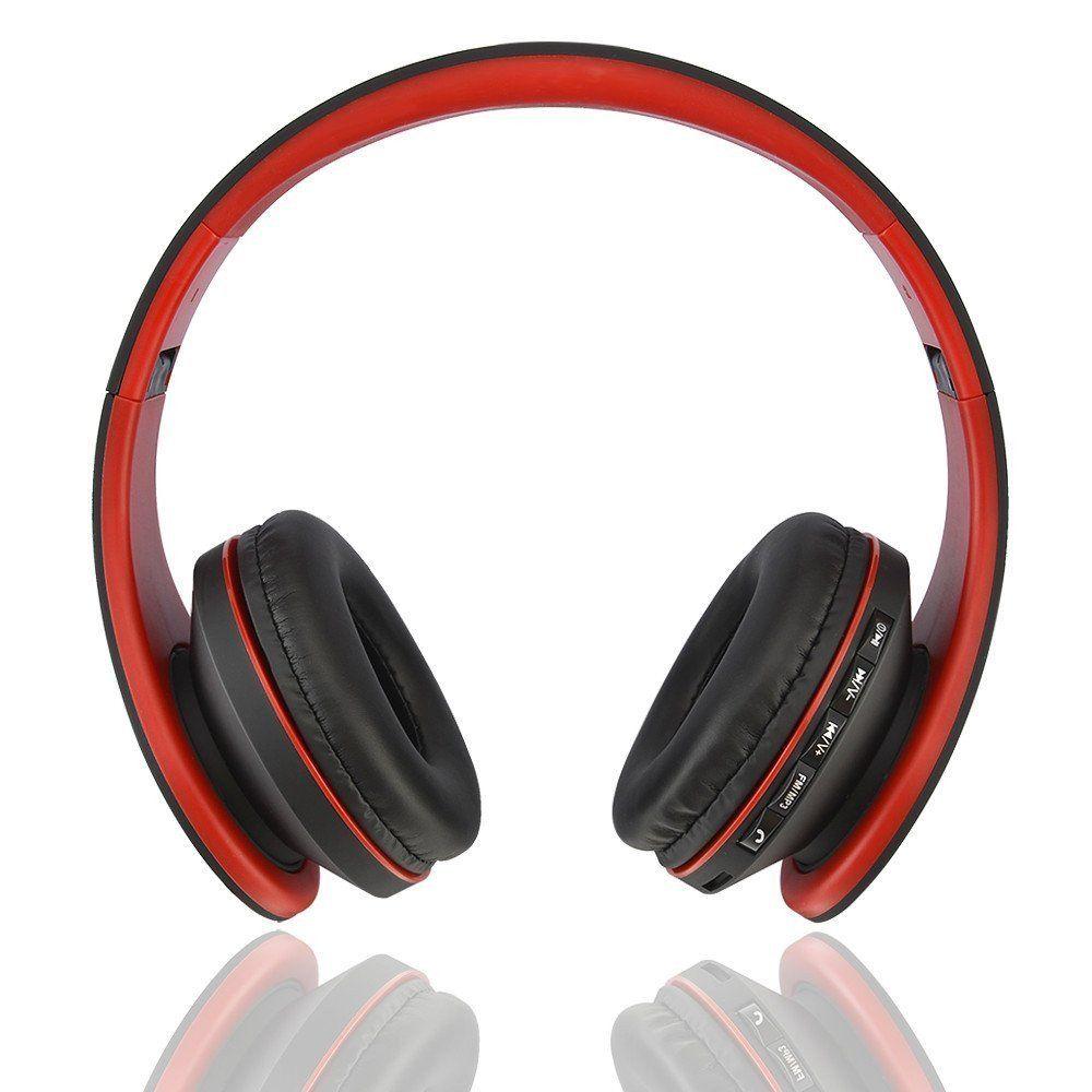 Foldable Wireless Bluetooth Over-ear Stereo Headphone w/ Hands-free on headphone plug wiring diagram, headphone wiring colors, headphone speaker wiring,