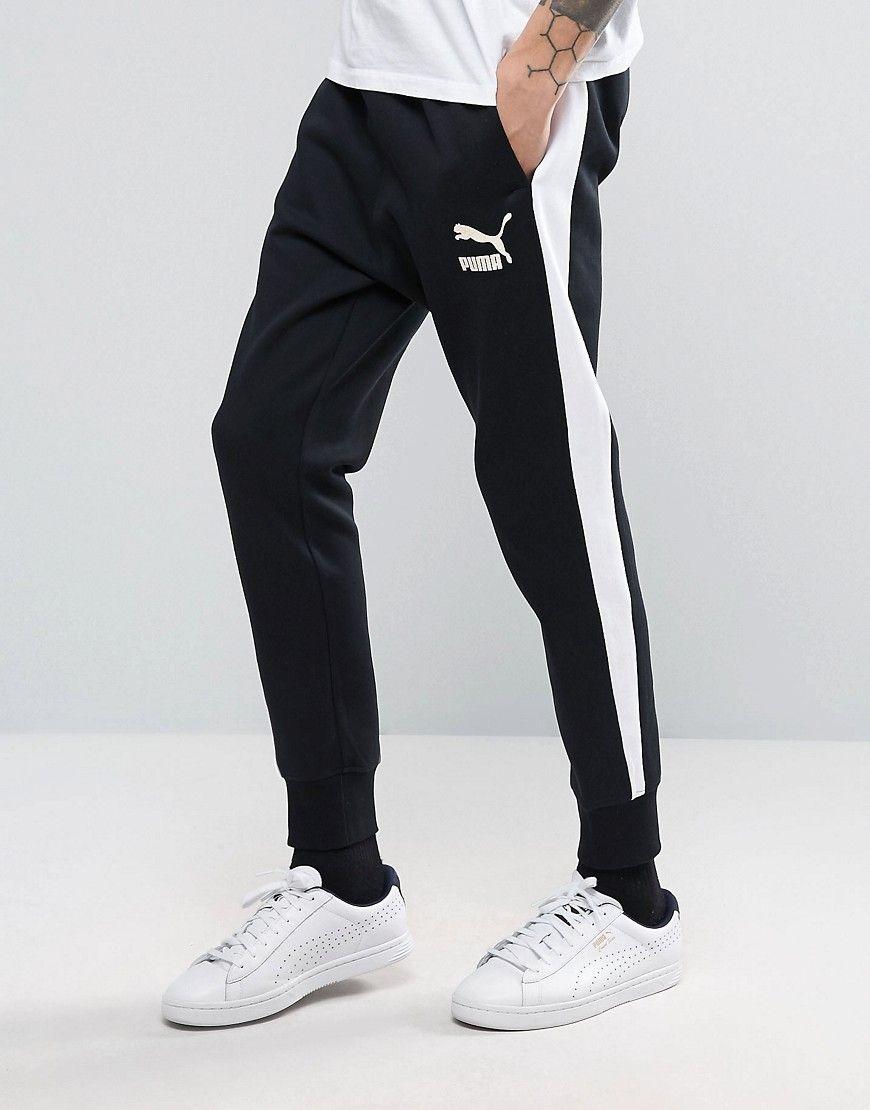 puma tracksuit white stripe