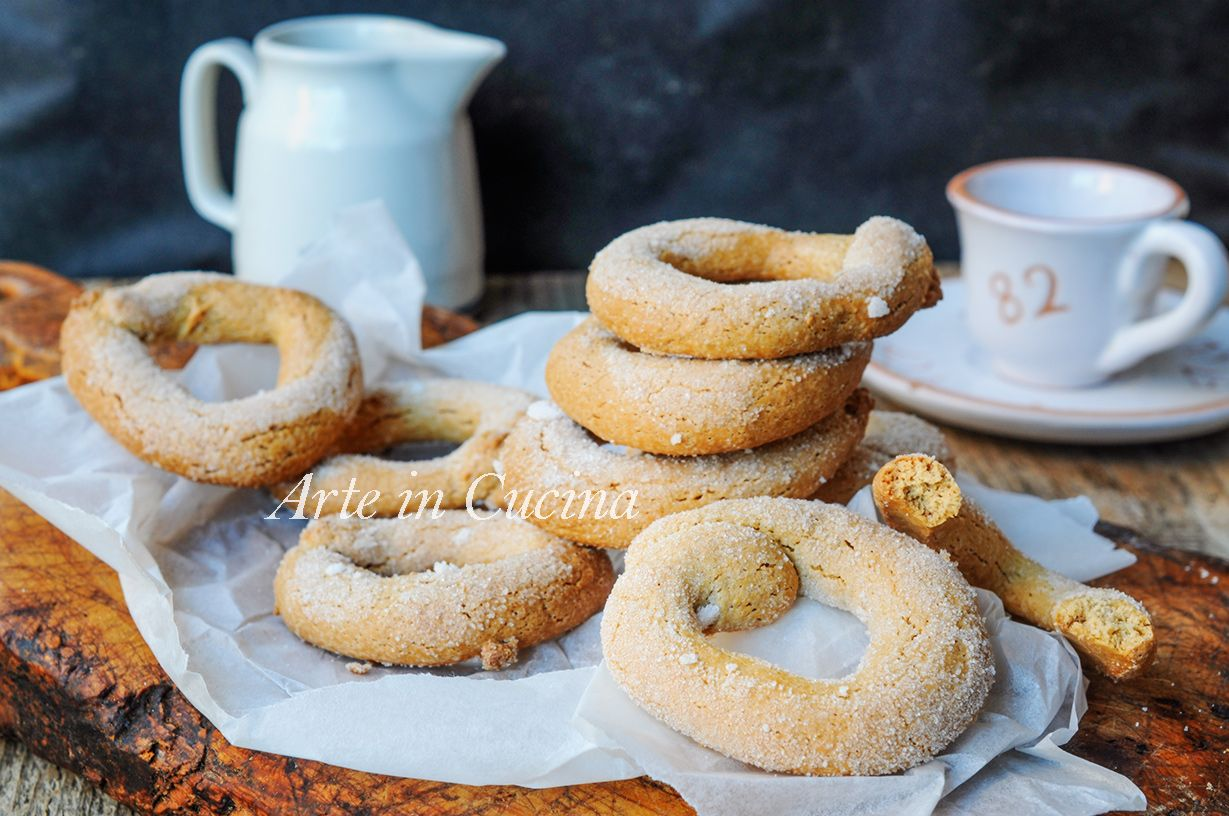 Ciambelline veloci al caffè ricetta biscotti facili (con