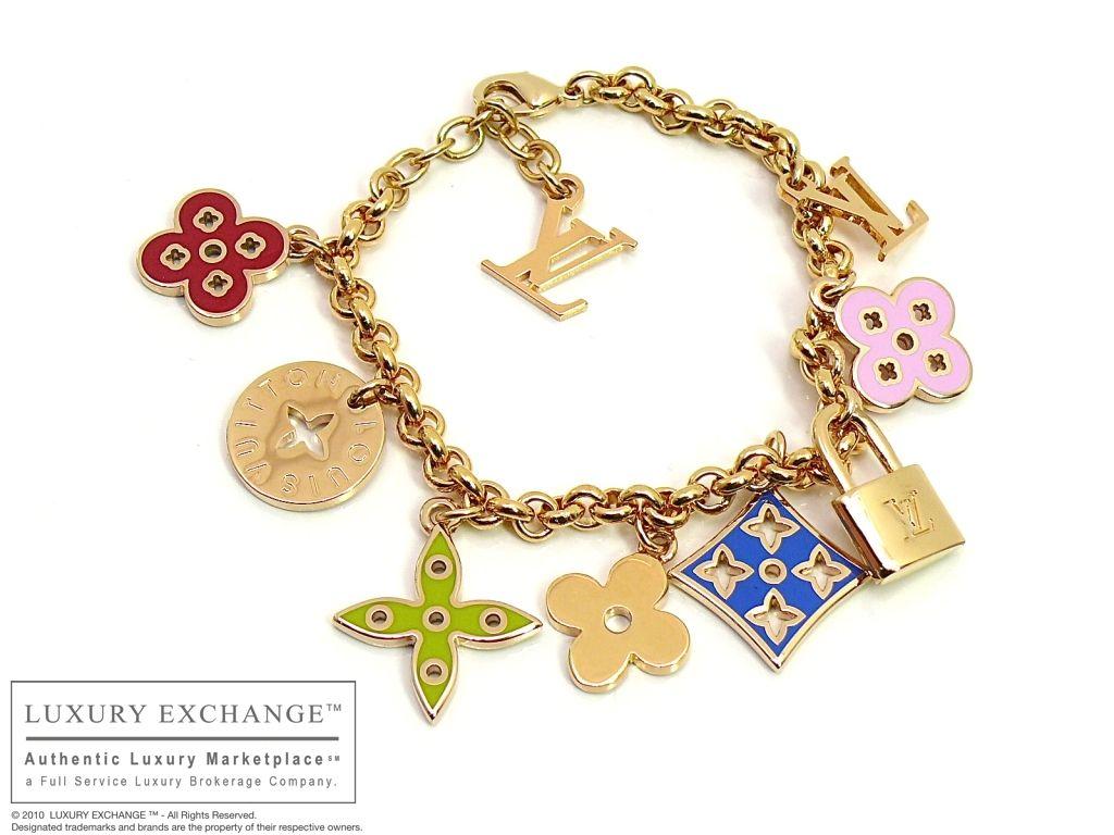 Louis Vuitton Charm Bracelet