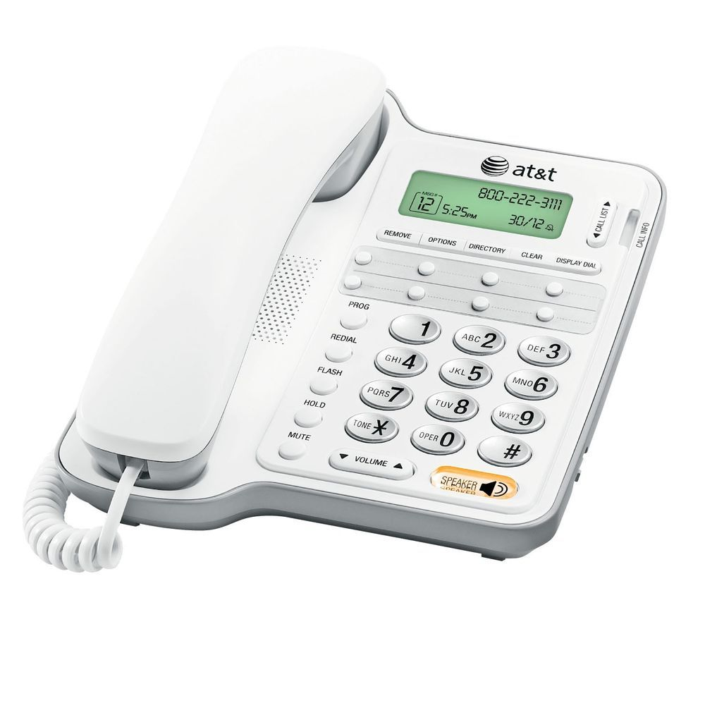 Details About Att Cl2909 Speakerphone Caller Id Call Waiting