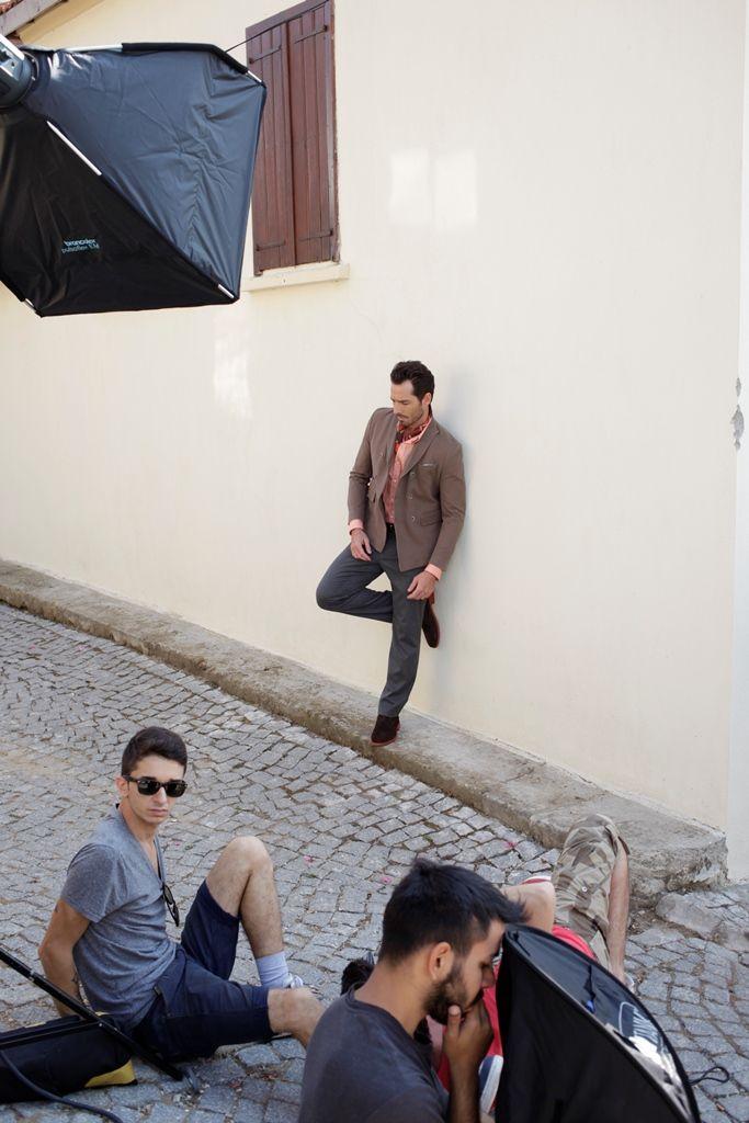D'S Damat A/W 2013-2014 Backstage #dsdamat #sonbahar #kis #koleksiyon #mode #erkekgiyim #backstage #fashion #menswear #autumn #winter