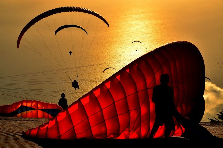 golden #parapente