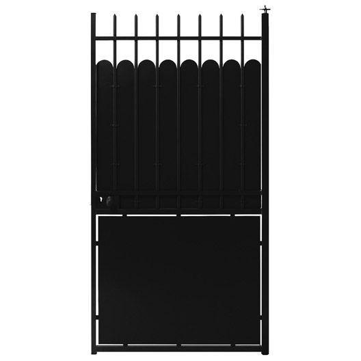 portillon en pvc normandie 100 cm. Black Bedroom Furniture Sets. Home Design Ideas