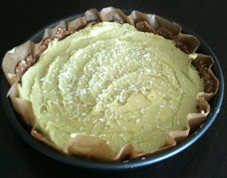 Paleo Recipe Queen: Paleo Avocado Coconut Key Lime Pie