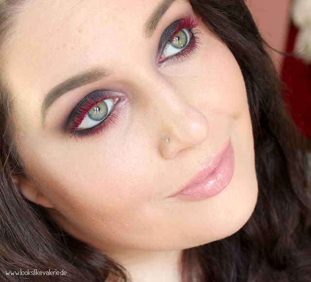 Special Look -  Red Lashes mit essence Colour Shock Mascara