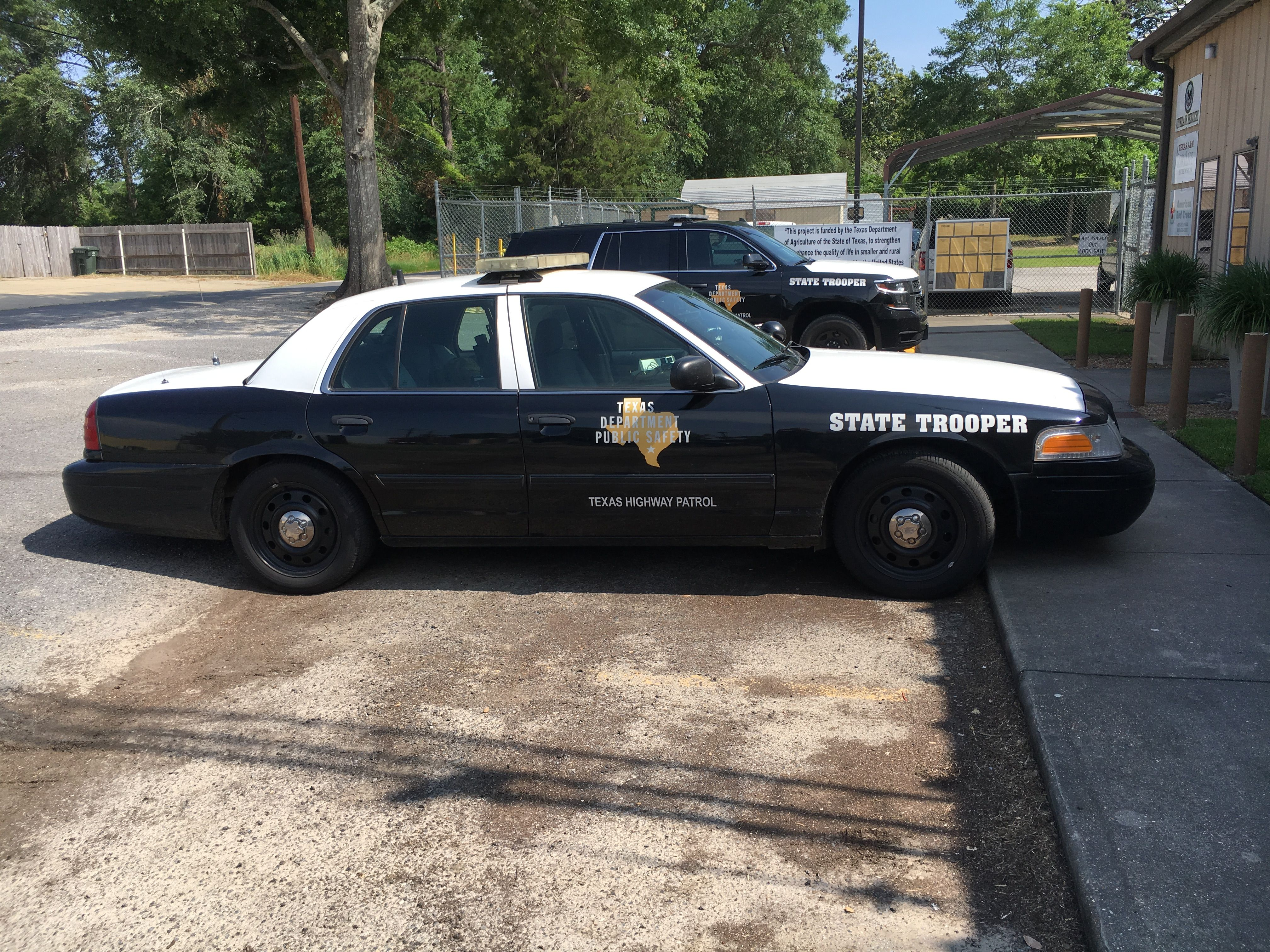 Texas Department of Public Safety Ford Crown Victoria