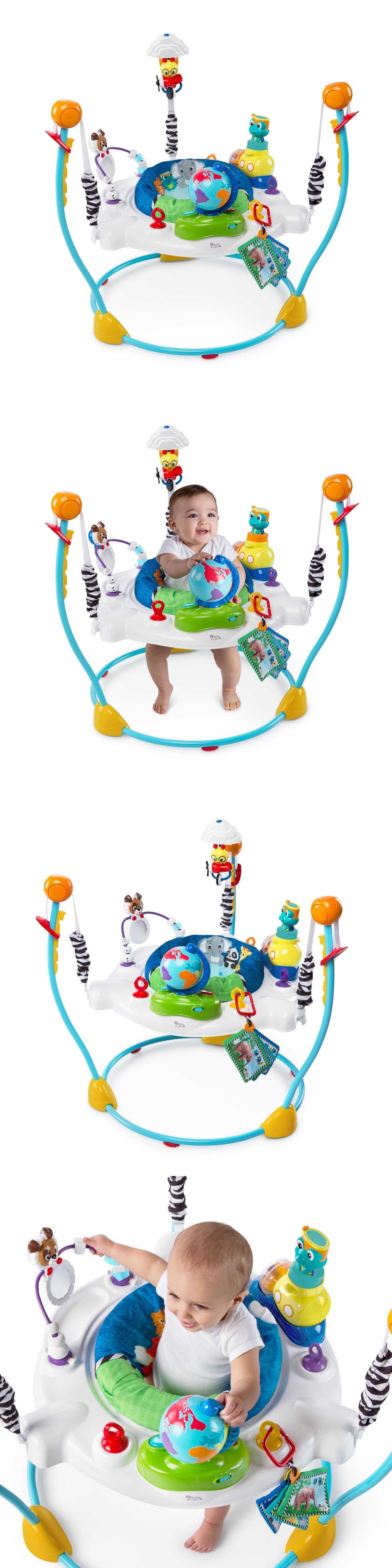 5639e583c0ff Baby Einstein Journey Of Discovery Jumper 3 Languages Activity Seat ...