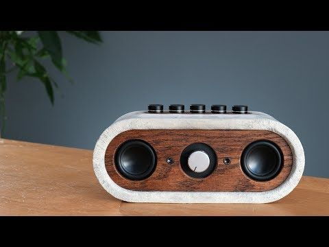 4125 Build A Ground Shaking Bluetooth Speaker Out Of Concrete