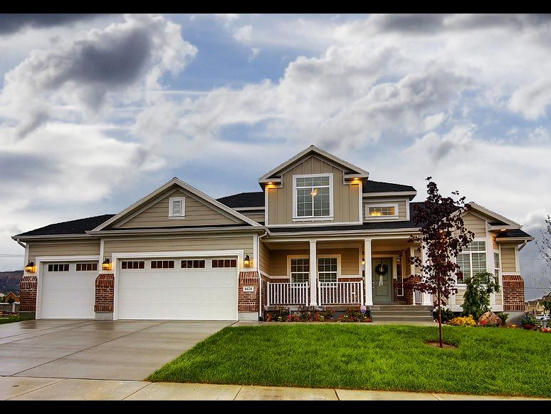 Hamilton Traditional II home design for new homes in Utah | Houses ...