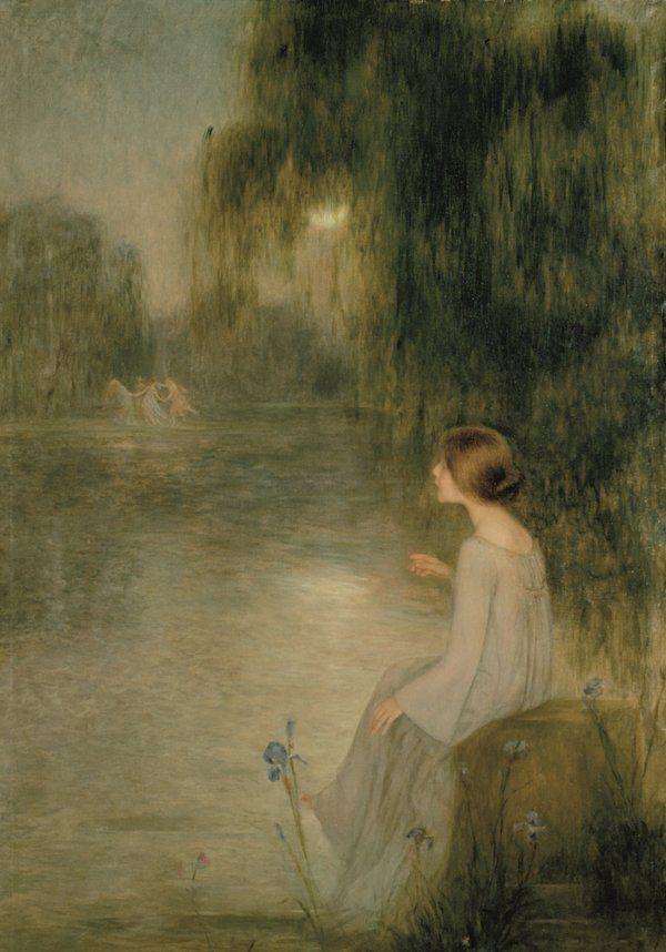 L'aventura simbolista, Joan BRULL. El simbolisme emfatitza la Bellesa i suposa una fita en la història de l'art, un canvi radical molt present en l'obra de Brull, extraordinari representant d'aquest moviment