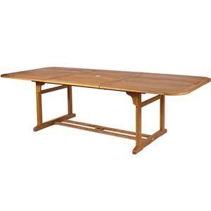 Tavolo giardino in legno allungabile da 200 a 250 e 300 cm