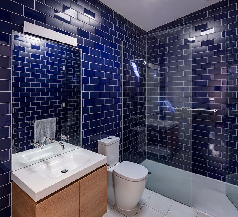 Bathroom Design Idea Mix And Match Glossy And Matte Tiles House Bathroom Matte Tile Bathroom Design