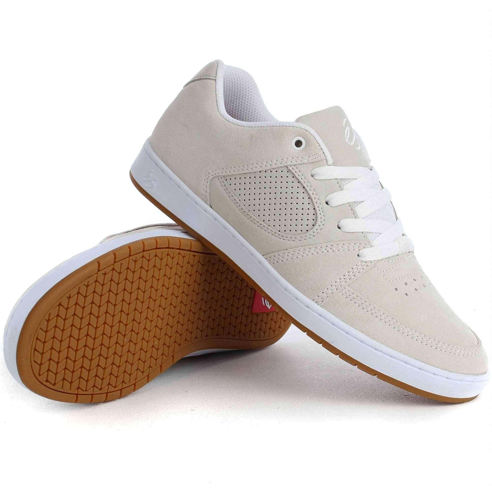 eS Accel Slim Shoes White White Gum