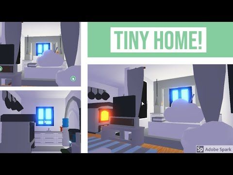 Adopt Me Tiny House Speed Build Adopt Me Youtube In 2020 Tiny House House Building