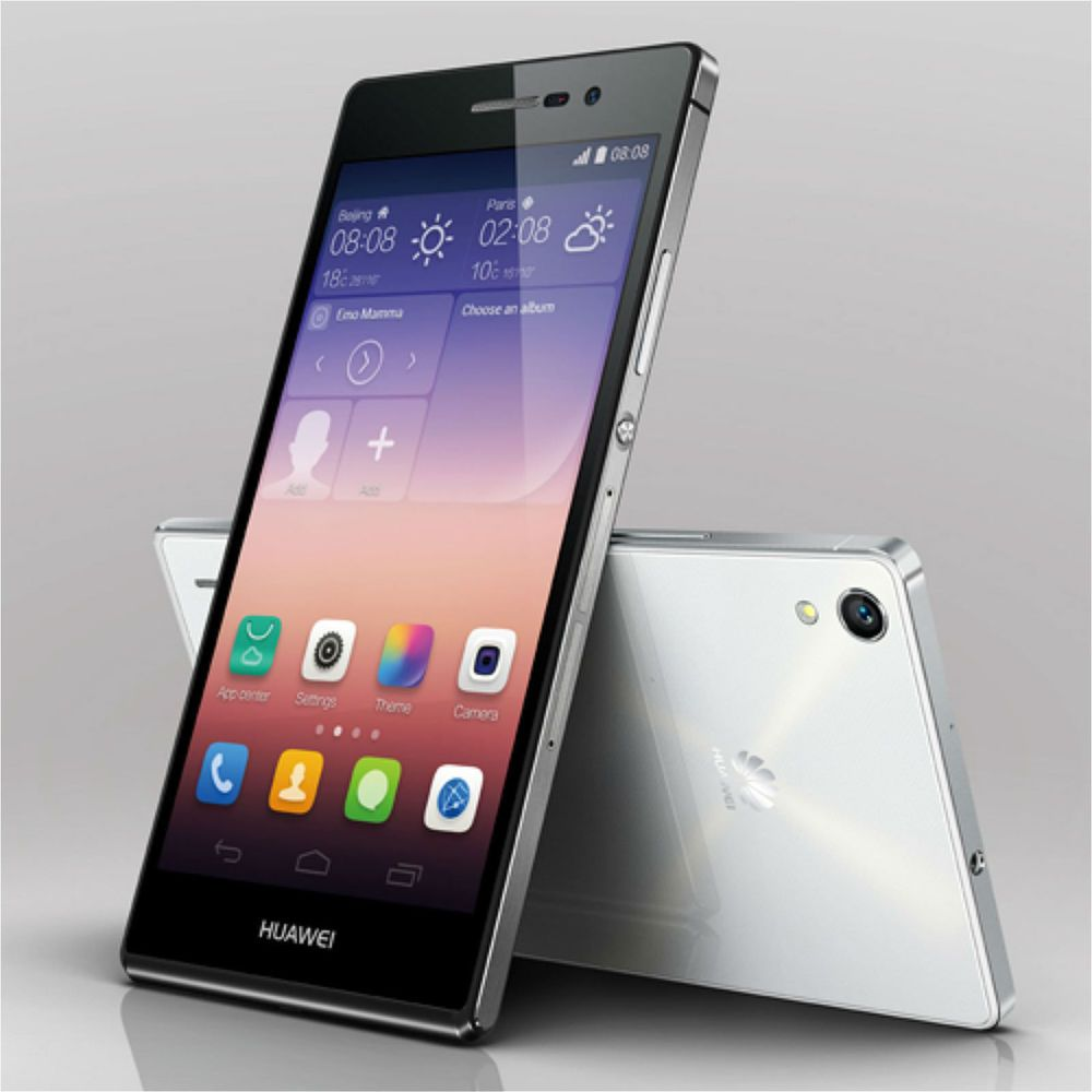 Huawei Ascend P7 FHD 1080P 13MP 16GB Quad Cord 4G LTE Smartphone Unlocked White in Cell Phones & Smartphones | eBay