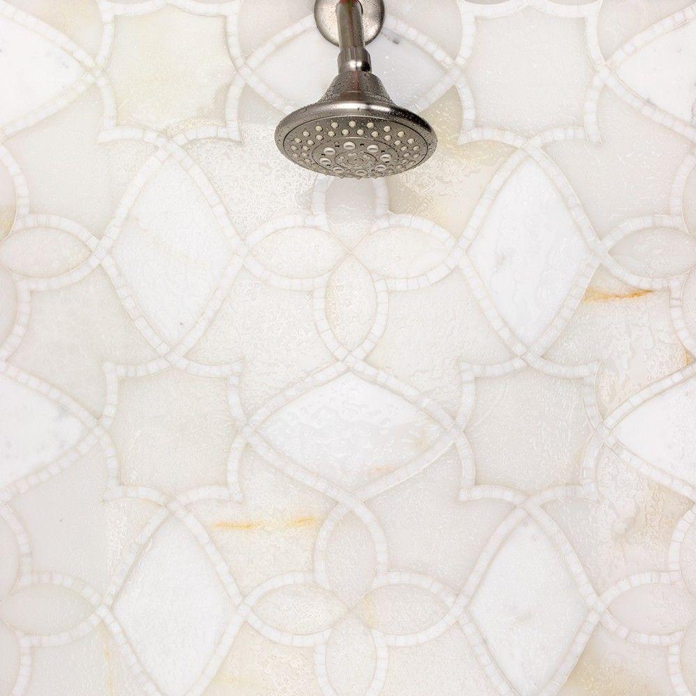 Elysian Onyx Marble Tile $$$$$ but beautiful | Tile | Pinterest ...