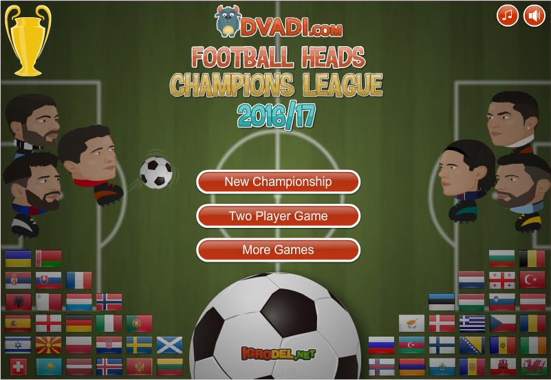 Soccer Heads Champions League 20162017 https//sites